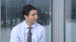 Prime Minister Justin Trudeau on the turning point in the election campaign